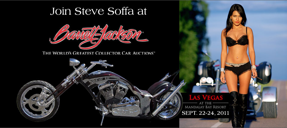 Steve Soffa at Barrett-Jackson in Las Vegas