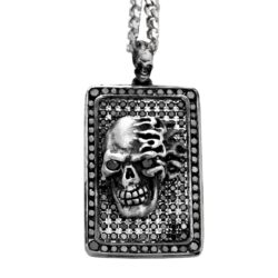 DT190-A Black Dogtag_Silver_16837092