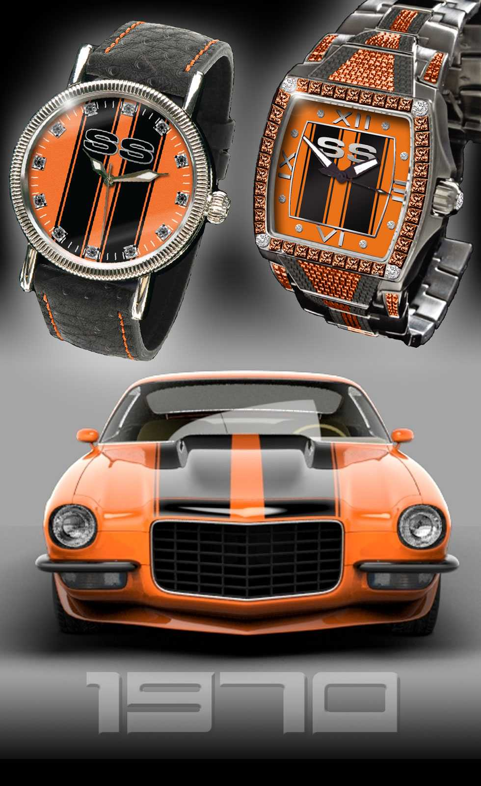 """1970 SS Camaro"" Custom Watch"