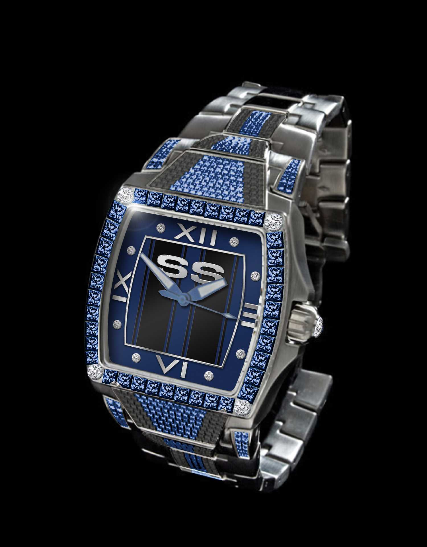 """SSE1100"" Custom Watch :: Design Inspired by Collector's SS Bike"