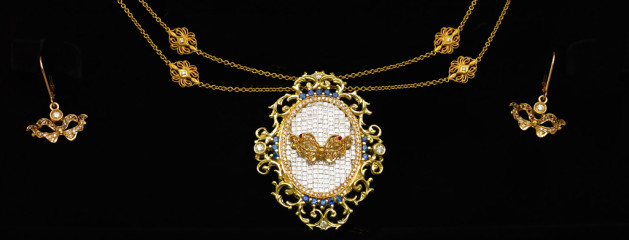 """Venetian"" Custom Necklace"