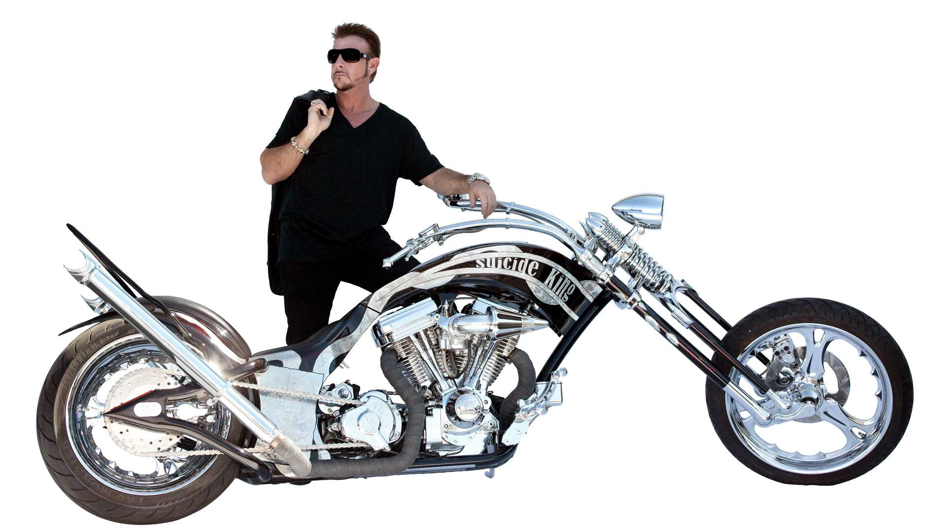 """Suicide King Chopper"" Customized Motorcycle Design"