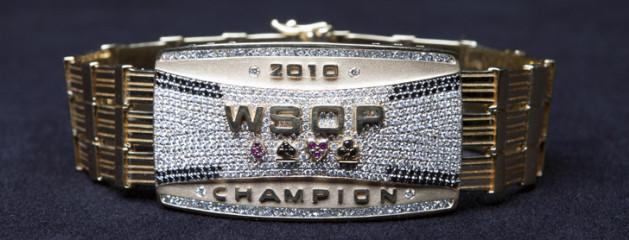 """WSOP 2010"" Championship Custom Bracelet"
