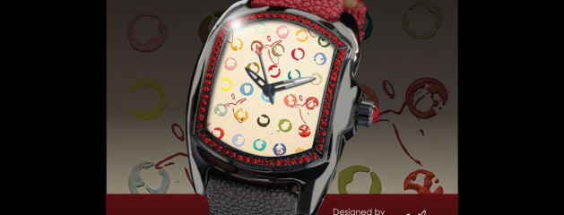 """Andy Lakey Angel"" Custom Watch :: Design produced for Charity in collaboration with the artist"
