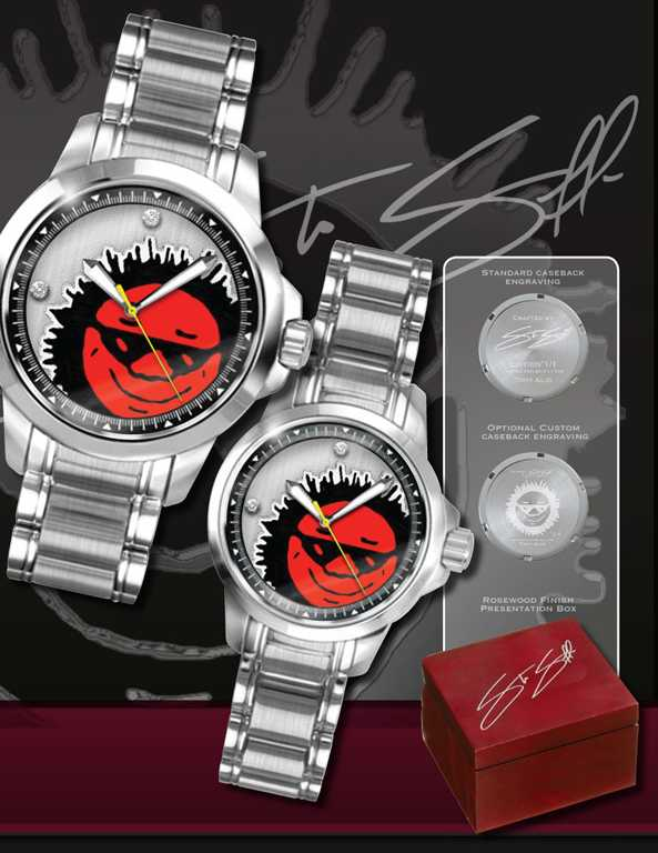 """Sun"" Custom Watch :: Design Inspired by Corporate Logo"