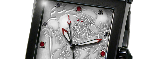 """Wizard"" Custom Watch :: Design based on Collector's Body Art"