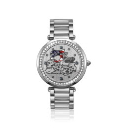"Sturgis 75th Anniversary ""Rushmore Logo"" Limited Edition Ladies Watch :: in Stainless Steel"