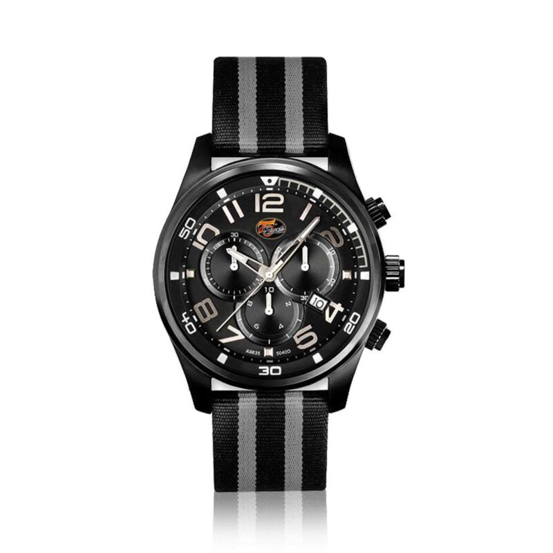 Sturgis 75th Anniversary Logo Edition Watch :: in Black and Silver