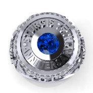Sturgis 75th Anniversary Ltd Edition Ring in WG with Sapphire & White Diamonds_3