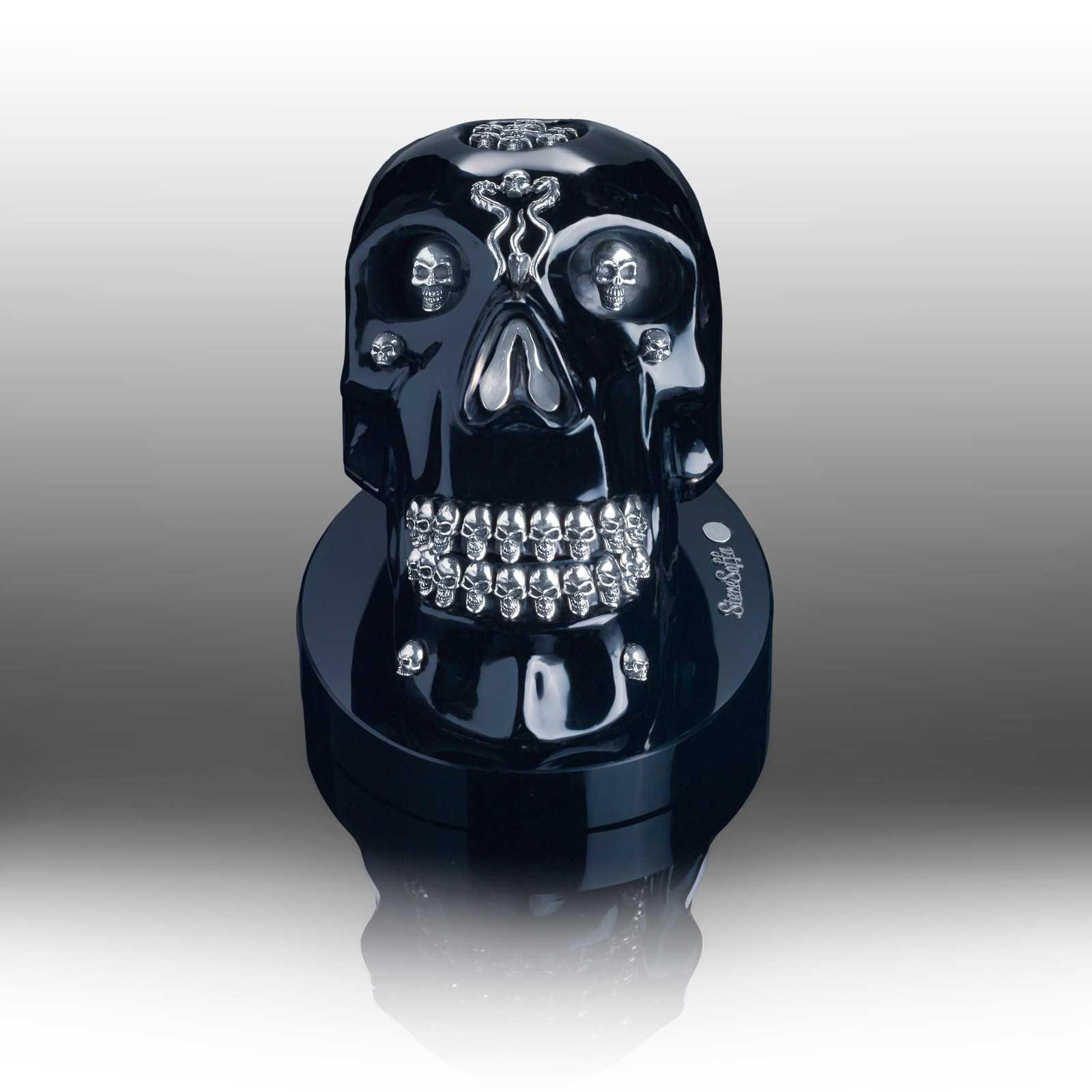 SCU9050-SL SCU9050-SL Skull Sculpture Silver