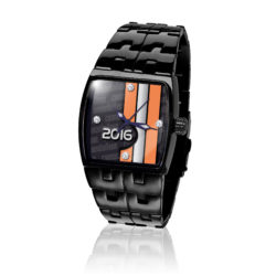 CBR700-BK Cannonball Run 2016 Edition Mens Watch in Black IP, designed by Steve Soffa