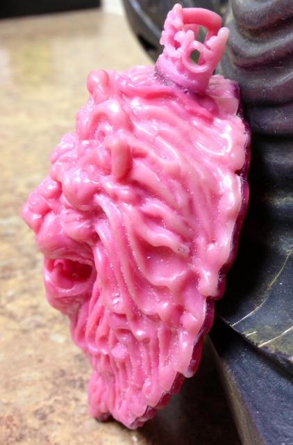 Quot lion pendant bracelet finished wax carving steve