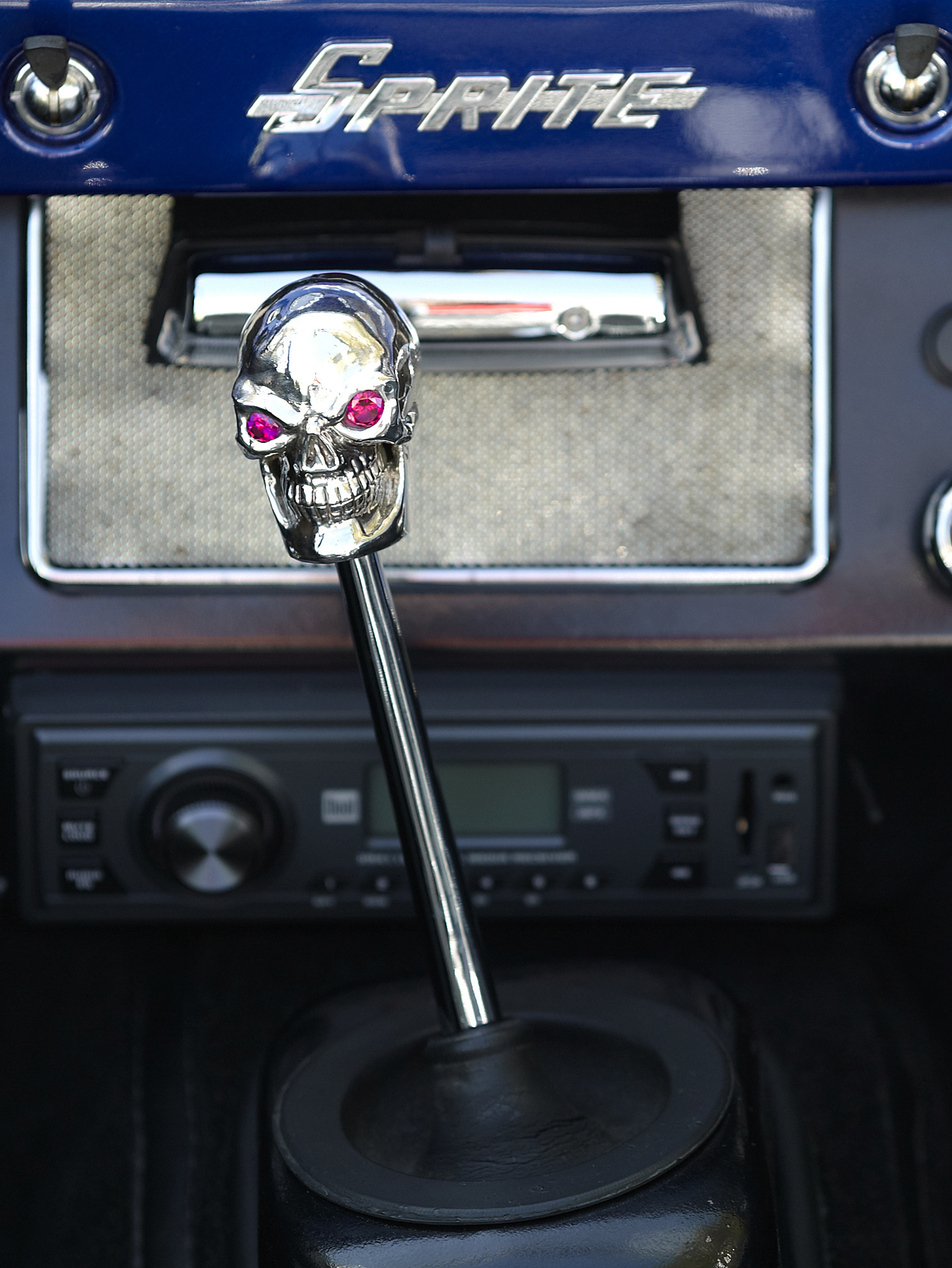 Hot Rod Skull Custom Shifter Knob Steve Soffa