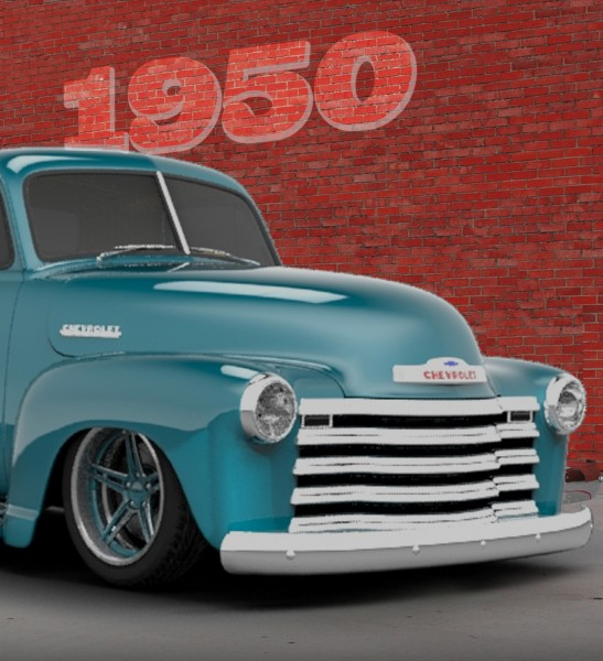 (1) The inspiration: Collector's 1950 Chevy