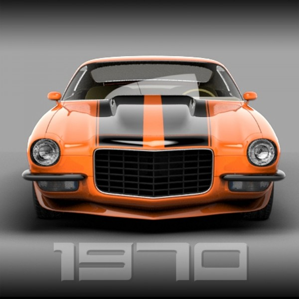 (1) The Inspiration: Collector's 1970 SS Camaro