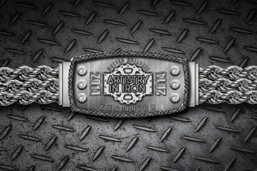 Artistry in Iron Championship Bracelet (Front)