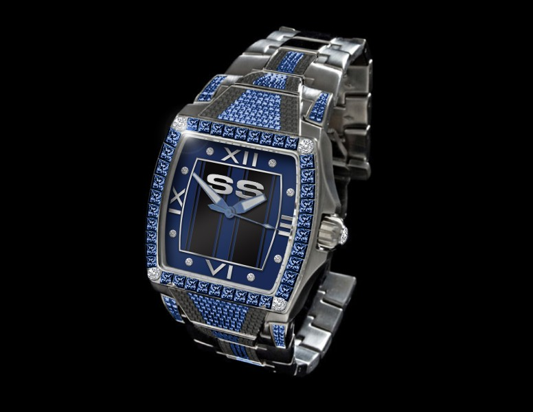 "(4) The final, the custom ""SSE1100″ watch"