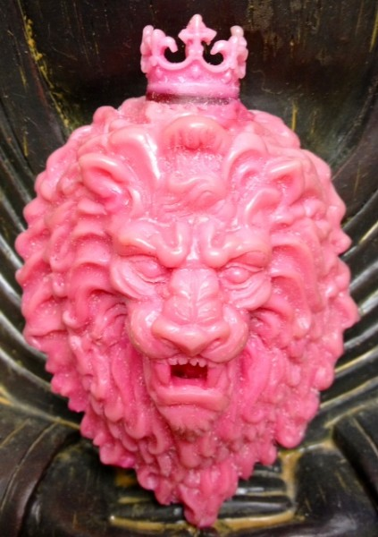 Lion Pendant Wax-photo