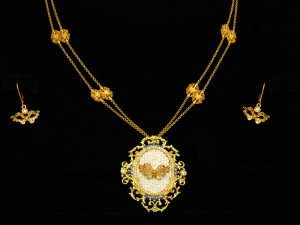 Necklace-Venetian Mask 04