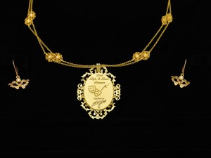Necklace-Venetian Mask 05