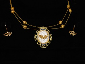 Necklace-Venetian Mask 06