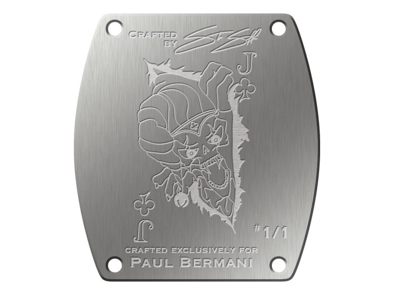 (3) Watch caseback is etched with the original art